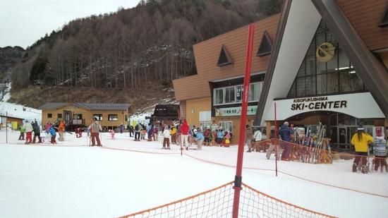 貴重なスキーオンリーをスキー場☆|木曽福島スキー場のクチコミ画像