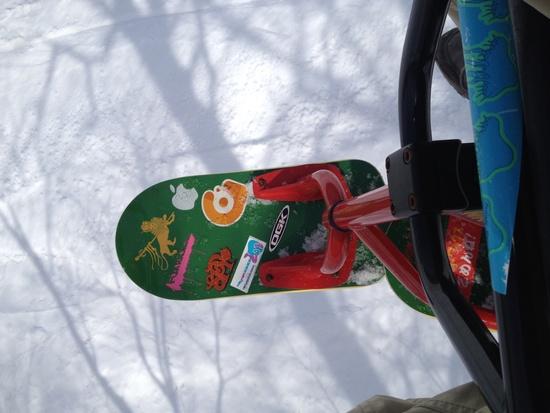 スクートで遊べるスキー場