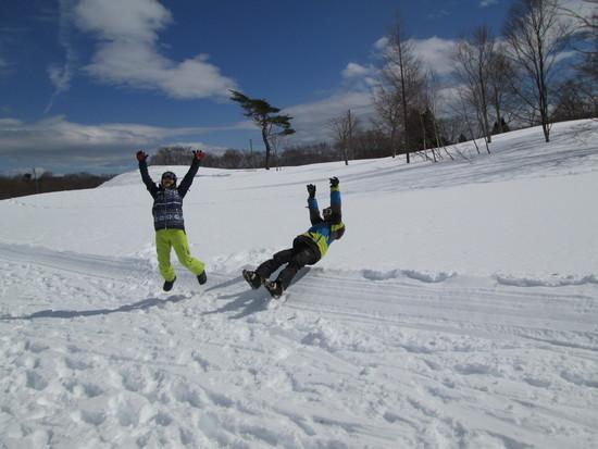 春スキー?|斑尾高原スキー場のクチコミ画像