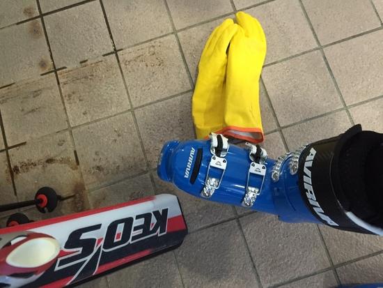 朝はパウダー、初滑り 最高でした^_^|鷲ヶ岳スキー場のクチコミ画像2
