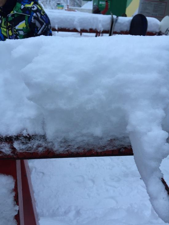 朝はパウダー、初滑り 最高でした^_^|鷲ヶ岳スキー場のクチコミ画像3