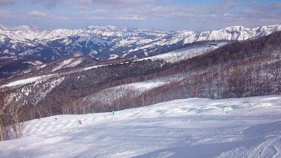 圧雪が綺麗&絶景|スキージャム勝山のクチコミ画像2