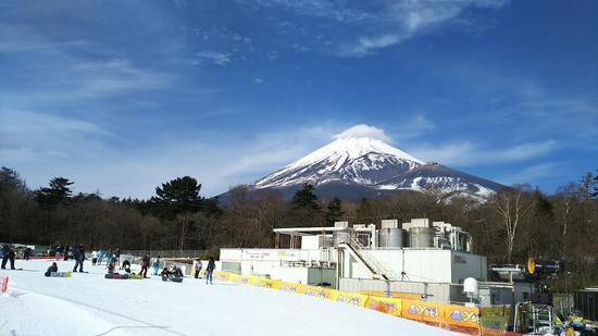 富士山どーーーーーん!|フジヤマ スノーリゾート イエティのクチコミ画像