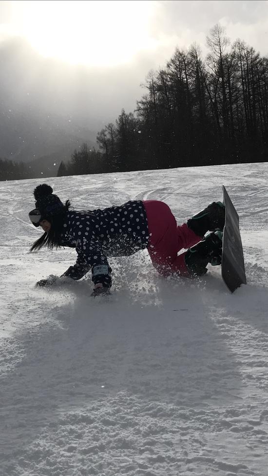 デビュー戦です!|八幡平リゾート パノラマスキー場&下倉スキー場のクチコミ画像