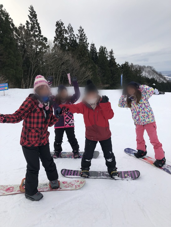 友達と初滑り!|ニノックススノーパークのクチコミ画像