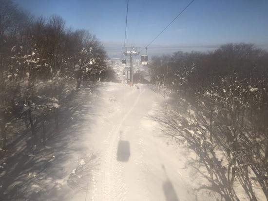 100%天然雪|野沢温泉スキー場のクチコミ画像