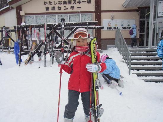 娘とバースディスキー|かたしな高原スキー場のクチコミ画像
