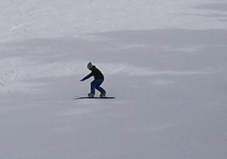 しまった雪|信州松本 野麦峠スキー場のクチコミ画像
