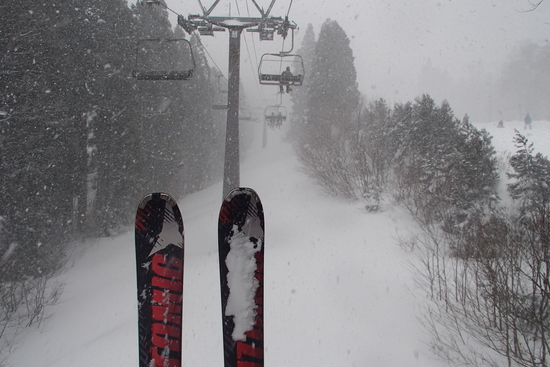 降雪は嬉しいのですが、、、|かぐらスキー場のクチコミ画像