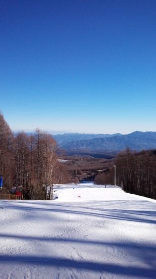 意外とスキーヤーが多い?|八千穂高原スキー場のクチコミ画像