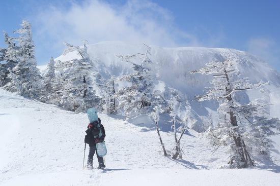 神楽峰バックカントリーへ|かぐらスキー場のクチコミ画像