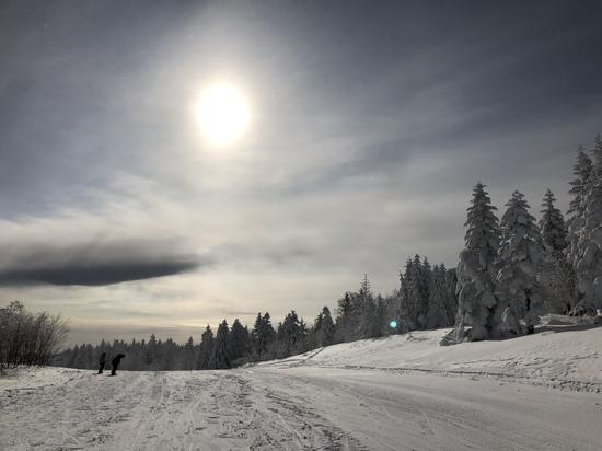 雪質まぁまぁ!|パルコールつま恋スキーリゾートのクチコミ画像