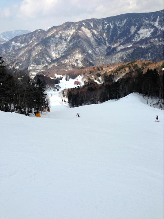 お正月スキーでしたが・・・硬かった・・・|丸沼高原スキー場のクチコミ画像