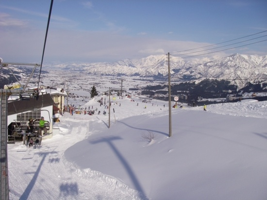 広くておすすめ!|石打丸山スキー場のクチコミ画像1