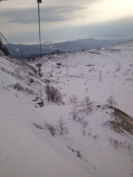 毎年お世話になってます。そして強風にも・・・ 草津温泉スキー場のクチコミ画像