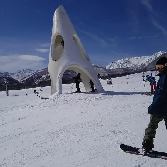 晴れれば天国|栂池高原スキー場のクチコミ画像