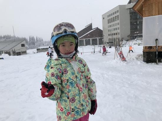 津南は雪がたくさんでした!!|ニュー・グリーンピア津南スキー場のクチコミ画像2
