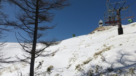 雪不足に負けないスキー場 エコーバレースキー場のクチコミ画像3