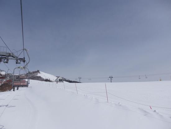 横に広いコース|岩原スキー場のクチコミ画像