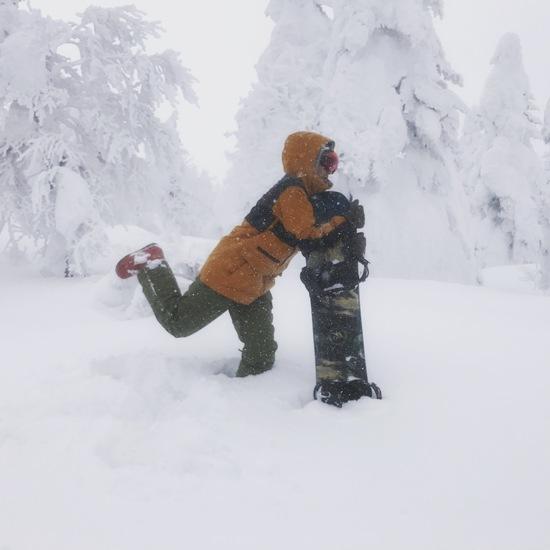 樹氷に出会えた日|蔵王温泉スキー場のクチコミ画像