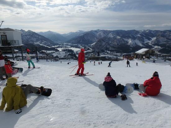初滑り|岩原スキー場のクチコミ画像