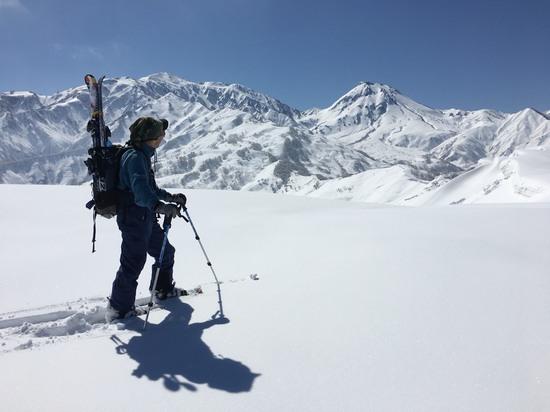 僅かなハイクで日本離れした風景|シャルマン火打スキー場のクチコミ画像