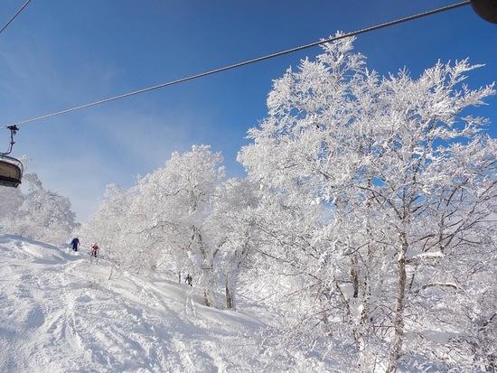 雪化粧 野沢温泉スキー場のクチコミ画像