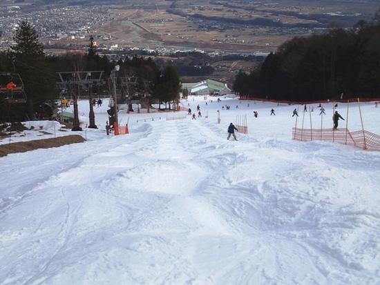 コブ初級者には嬉しい斜面有り 中央道 伊那スキーリゾートのクチコミ画像