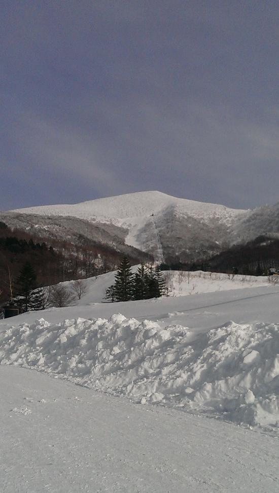 ここはおすすめ。雪質がいい。|箕輪スキー場のクチコミ画像