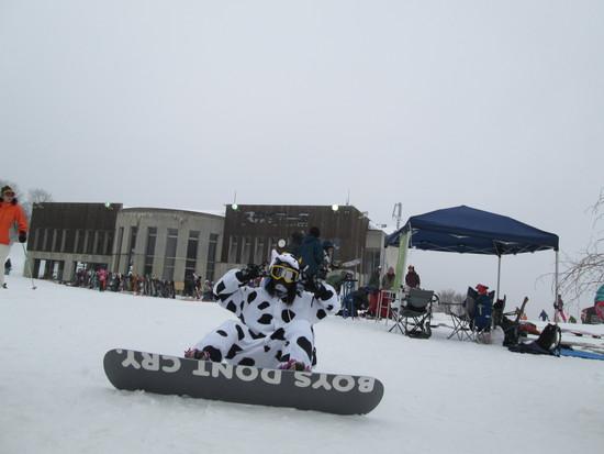 仮装で滑走|白馬岩岳スノーフィールドのクチコミ画像