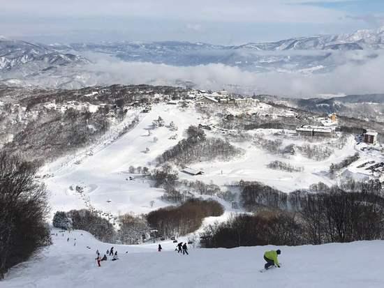 ほどほど広大なゲレンデであきることなく滑れる|斑尾高原スキー場のクチコミ画像2
