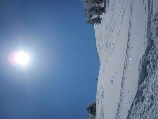 晴天|志賀高原 熊の湯スキー場のクチコミ画像