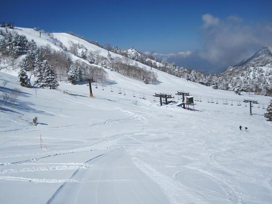 晴天|志賀高原 熊の湯スキー場のクチコミ画像2