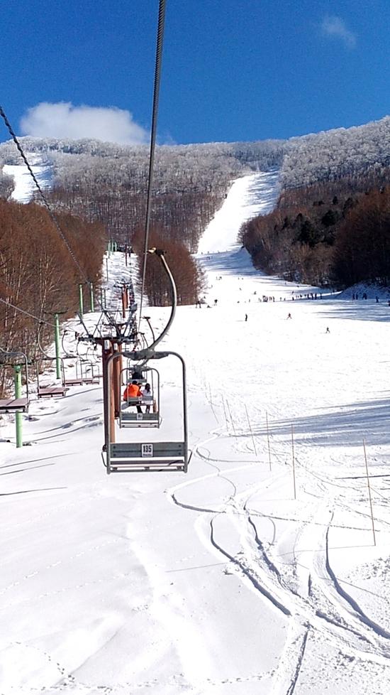 雪不足てすが、まずまず|会津高原たかつえスキー場のクチコミ画像