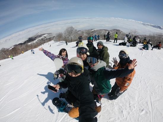 一面の雪景色!|野沢温泉スキー場のクチコミ画像2