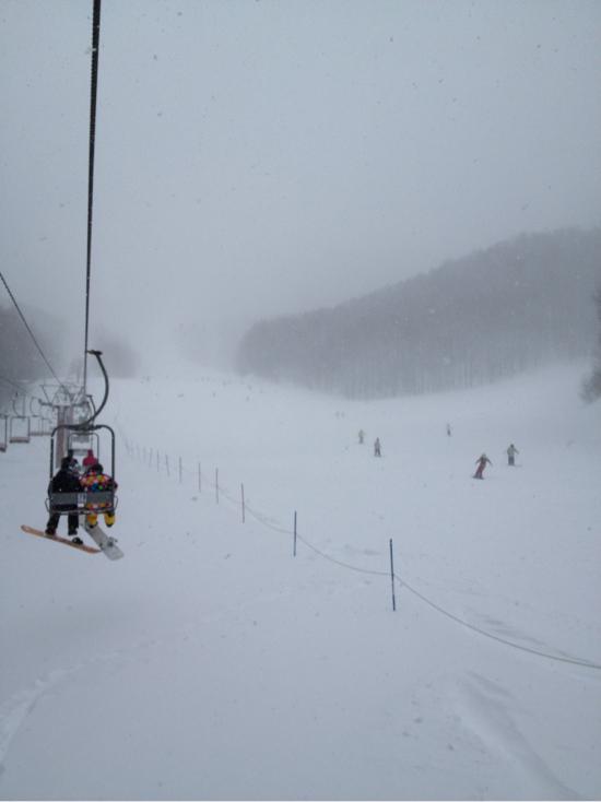 寒かったけど上質のパウダースノー 会津高原たかつえスキー場のクチコミ画像
