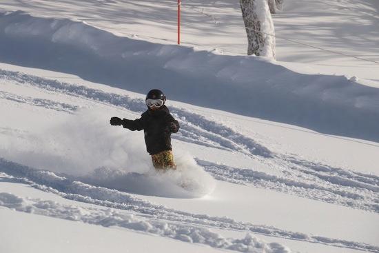 パウダー満喫|KIRORO SNOW WORLDのクチコミ画像