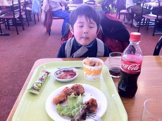 子供とジャンクフード|戸隠スキー場のクチコミ画像