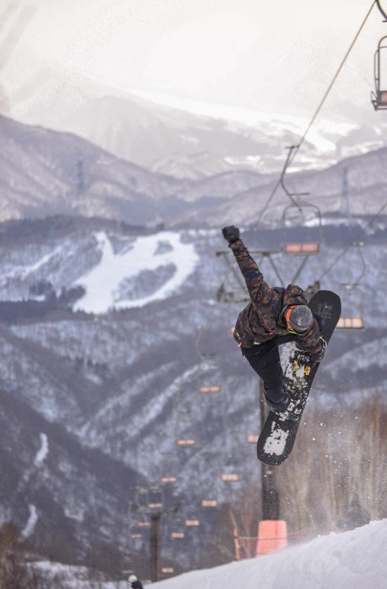 大ジャンプ かぐらスキー場のクチコミ画像