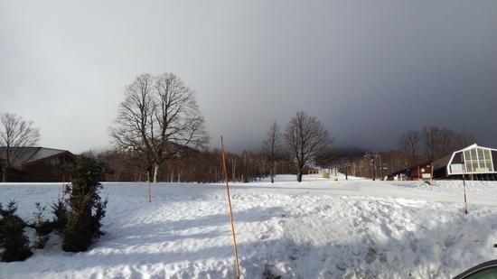 ここなら暖冬でも雪がある|奥志賀高原スキー場のクチコミ画像