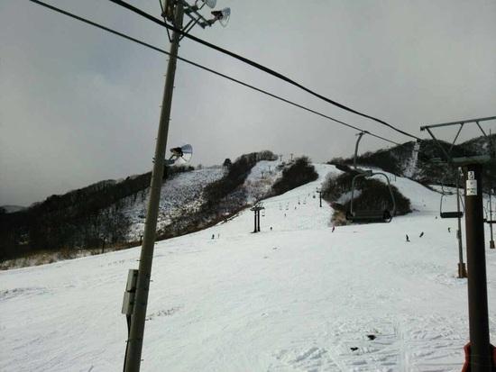 白馬でも雪不足のスキー場が多い中、ほぼ全面オープン!|白馬乗鞍温泉スキー場のクチコミ画像2