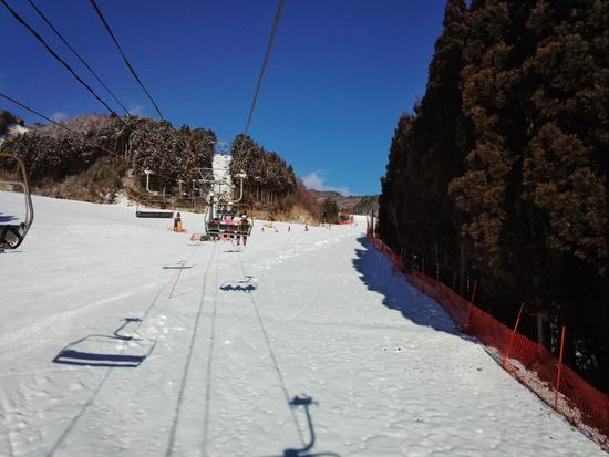 雪の降り始めで雪質良好♪|めいほうスキー場のクチコミ画像