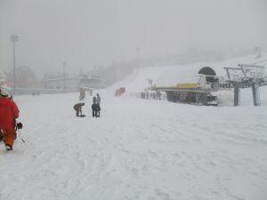 雪降りです。|ダイナランドのクチコミ画像