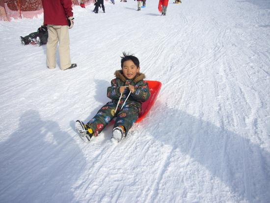 初雪そり 奥伊吹スキー場のクチコミ画像2