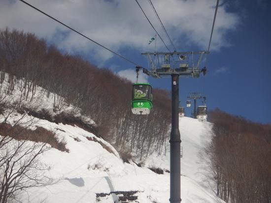 特別なゴンドラ|野沢温泉スキー場のクチコミ画像