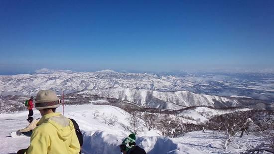 積雪が無い場合は午後にかけてコブ。|野沢温泉スキー場のクチコミ画像