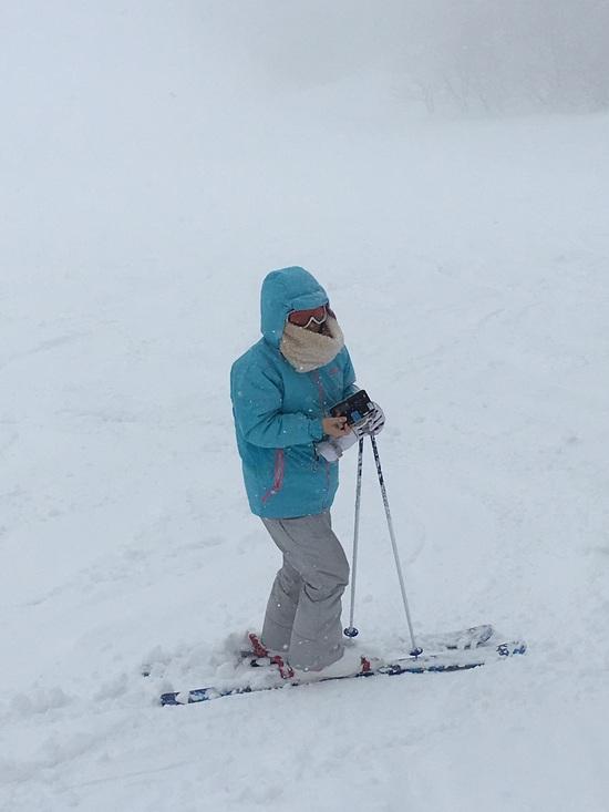 久々の積雪量|箱館山スキー場のクチコミ画像1