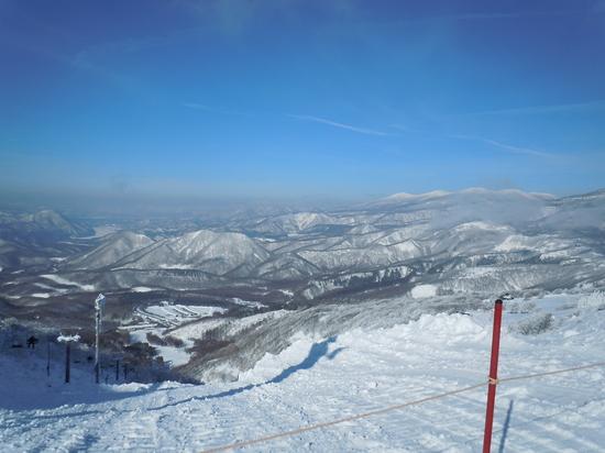 快晴・無風・雪質サイコー!|箕輪スキー場のクチコミ画像