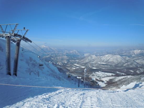 快晴・無風・雪質サイコー! 箕輪スキー場のクチコミ画像2