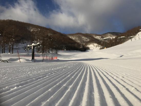 やわふわ圧雪|オグナほたかスキー場のクチコミ画像